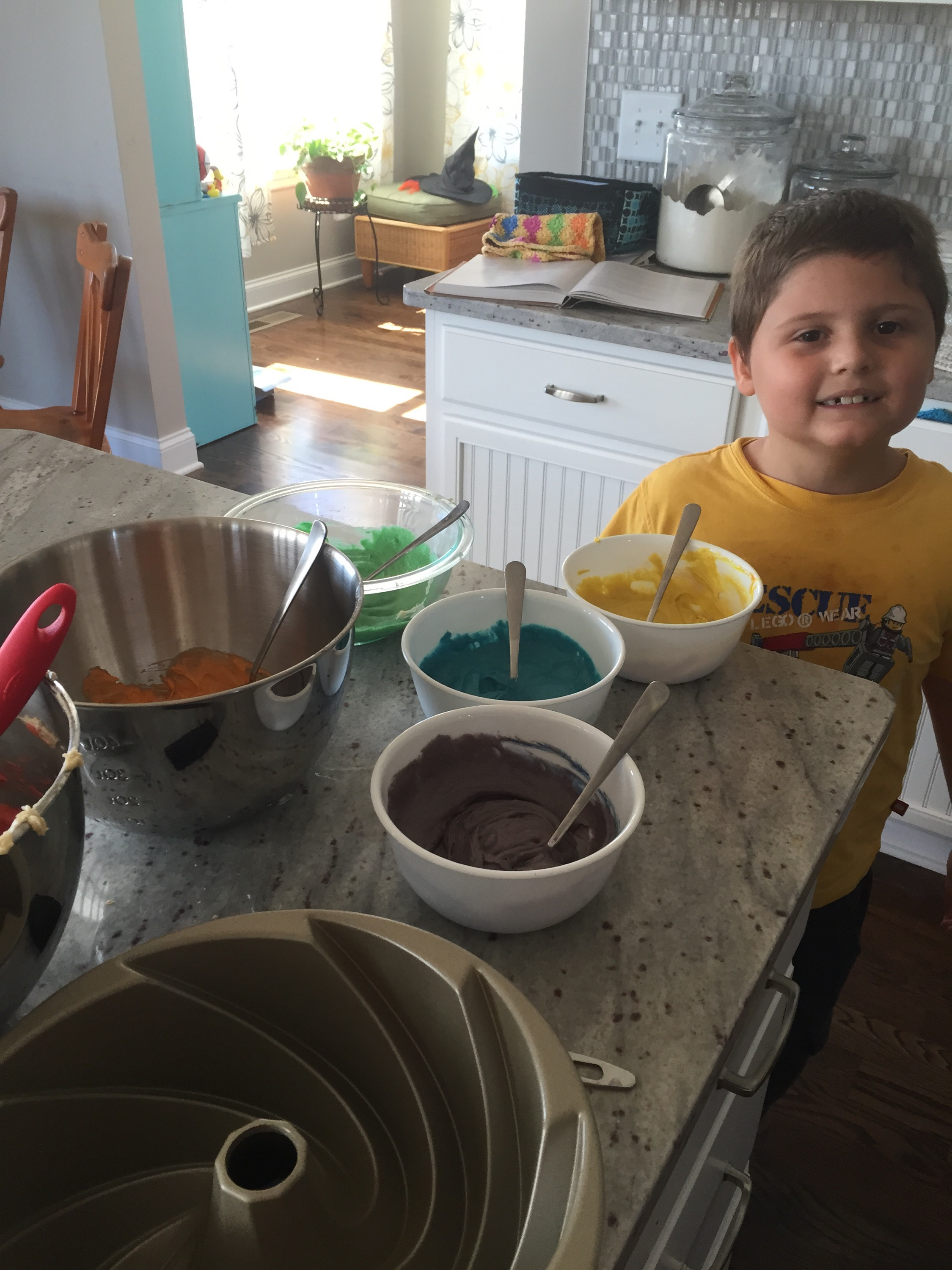 Rainbow Cake–A food color review. – shove it in my piehole